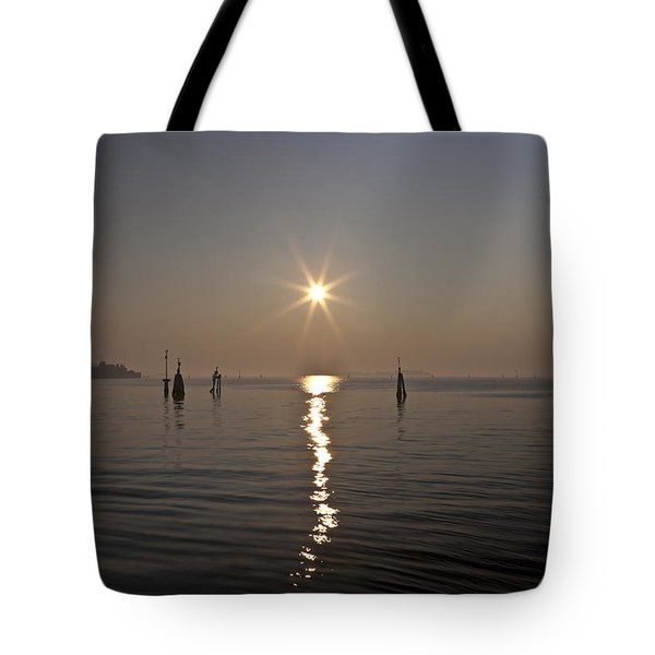 lagoon of Venice Tote Bag by Joana Kruse