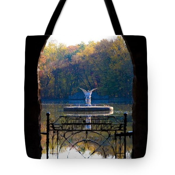 Lake Angel Tote Bag by Bill Cannon