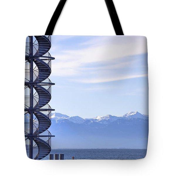 Lake Constance Friedrichshafen Tote Bag by Joana Kruse