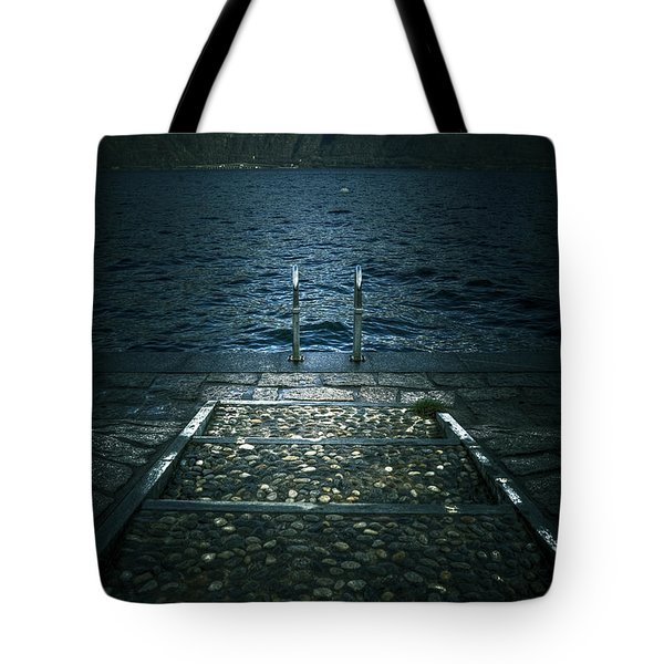 lake in the winter Tote Bag by Joana Kruse