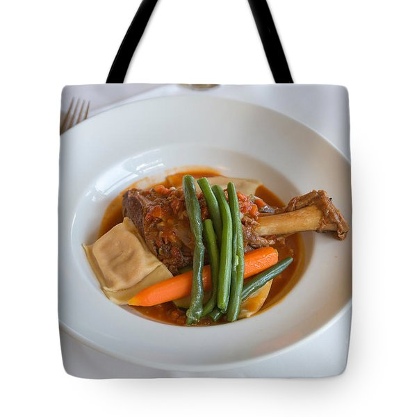 Lamb Shank Tote Bag by Louise Heusinkveld