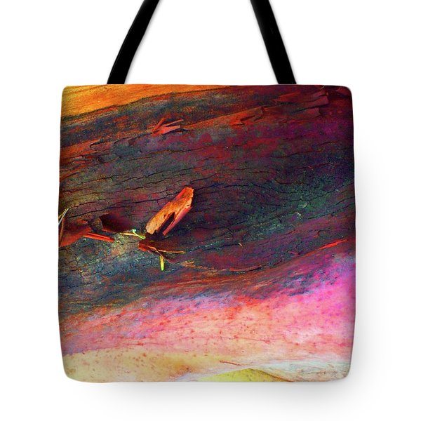 Tote Bag featuring the digital art Landing by Richard Laeton