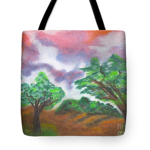 Landscape 1 Tote Bag by Mary Zimmerman