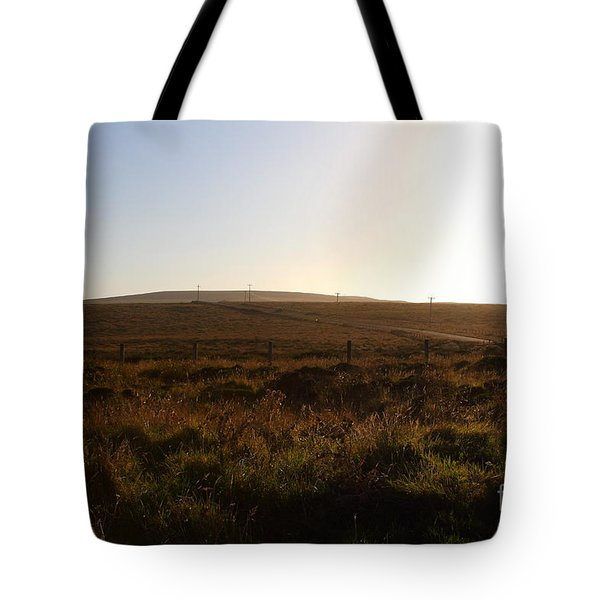 Landscape At Point Reyes California . 7D9958 Tote Bag by Wingsdomain Art and Photography