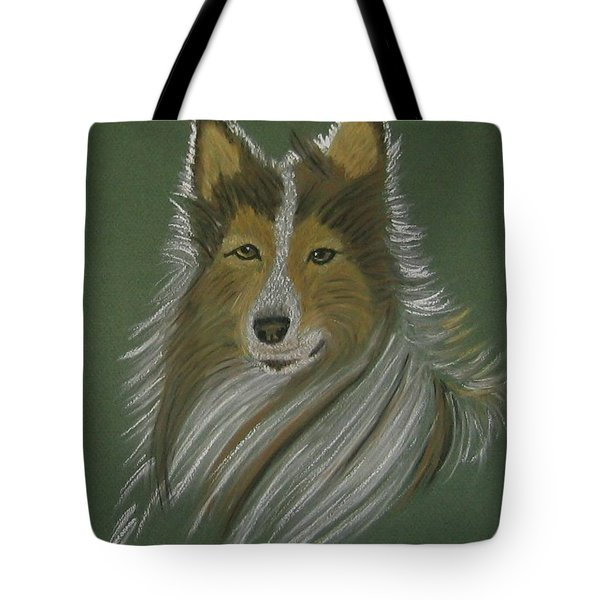 Lassie Tote Bag by Sandra Frosst