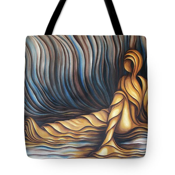 Layers Cxl Tote Bag by Diana Durr