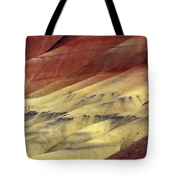 Layers of Red Tote Bag by Mike  Dawson