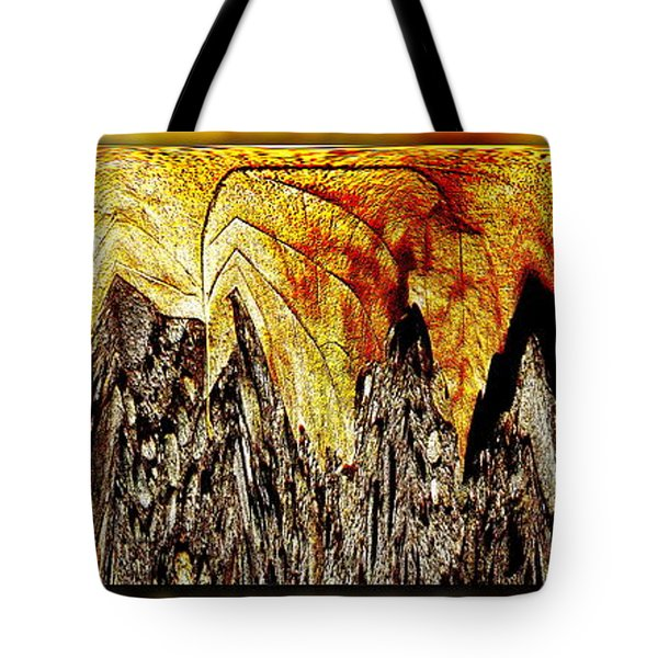 Leaf Meld Tote Bag by Tim Allen
