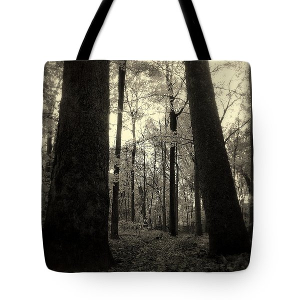 Lean Two Tote Bag by Ed Smith