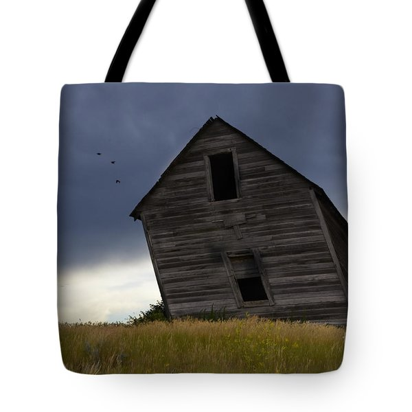 Leaning A Little 2 Tote Bag by Bob Christopher