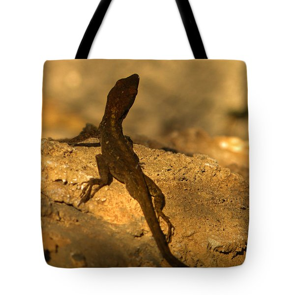 Leapin' Lizards Tote Bag by Trish Tritz