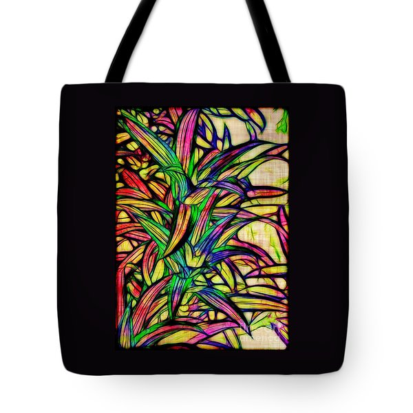 Leaves of Imagination Tote Bag by Judi Bagwell