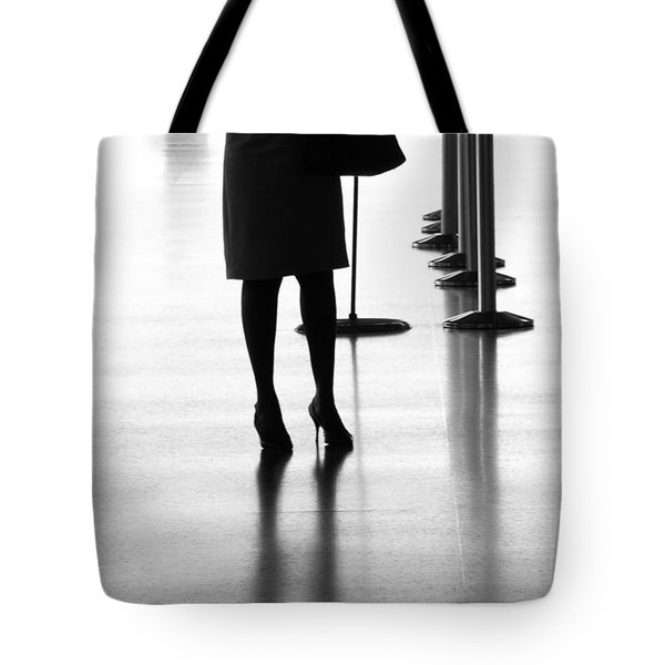 Leaving On A Jet Plane Tote Bag by Rene Triay Photography