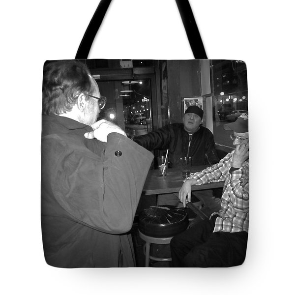 Leaving So Soon Tote Bag by Kym Backland
