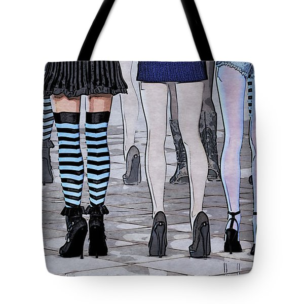 Legs Tote Bag by Jutta Maria Pusl