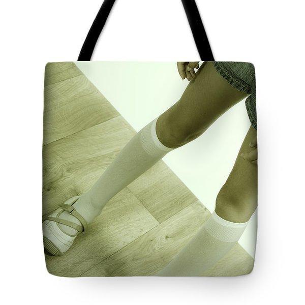 Legs Of A Girl Tote Bag by Joana Kruse