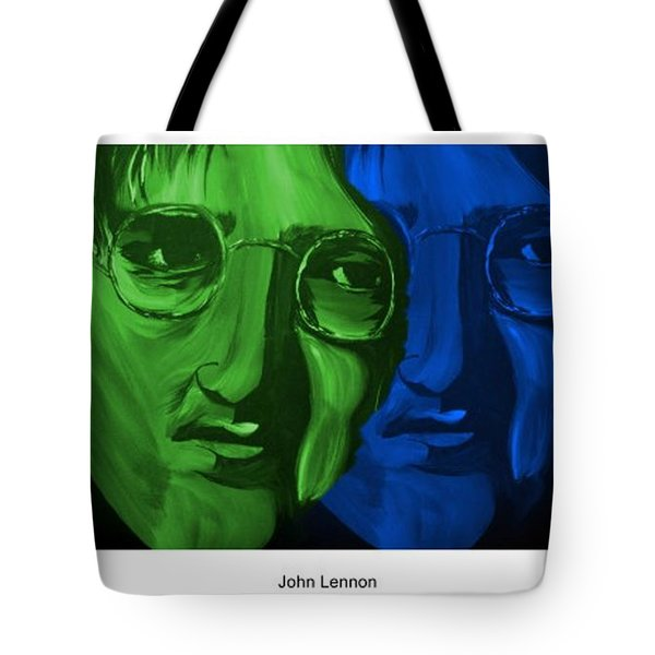 Lennon Tote Bag by Mark Moore
