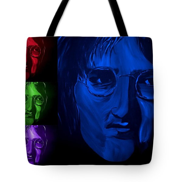 Lennon The Legend Tote Bag by Mark Moore