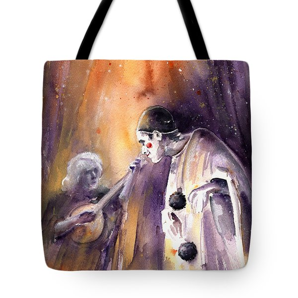 Leo Sayer In The Show Must Go On Tote Bag by Miki De Goodaboom