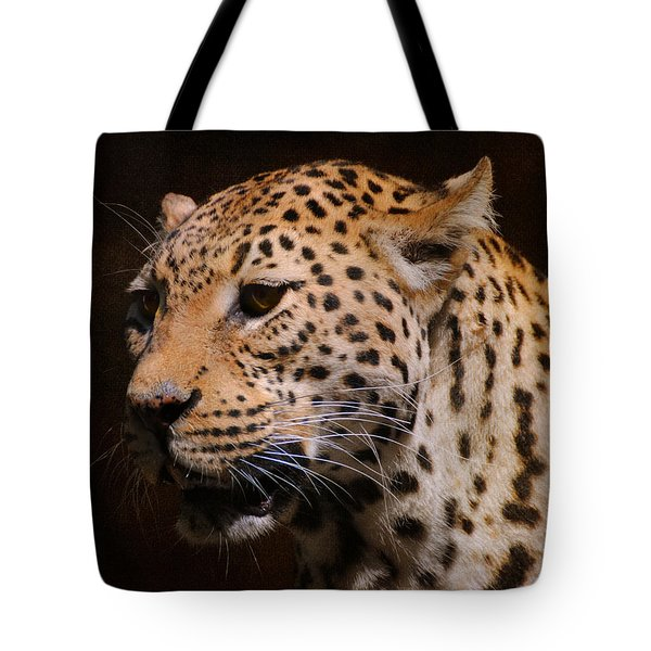 Leopard IIi Tote Bag by Jai Johnson