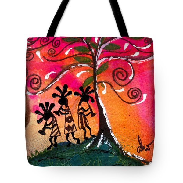 Let's Play Tote Bag by Angela L Walker