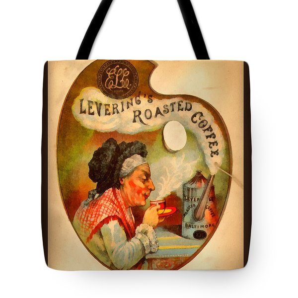 Levering's Roasted Coffee Tote Bag by Anne Kitzman