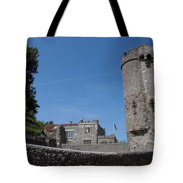 Lewes Castle Tote Bag by Dawn OConnor
