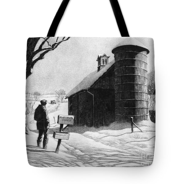 Lewis: R.f.d., 1933 Tote Bag by Granger