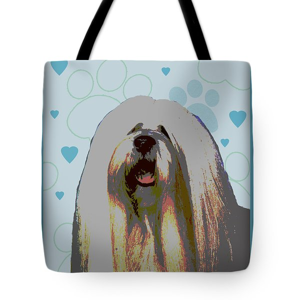Lhasa Apso Tote Bag by One Rude Dawg Orcutt
