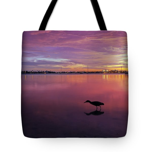 Life after Sunset Tote Bag by Melanie Viola