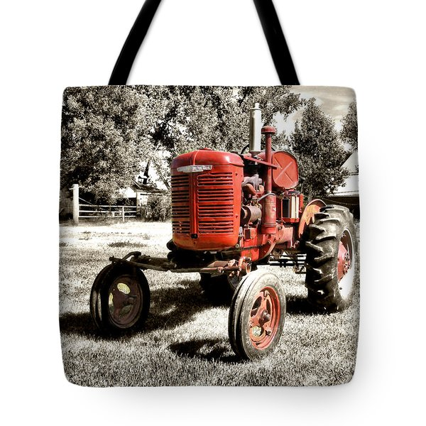 Life On The Farm Tote Bag by Susan Kinney