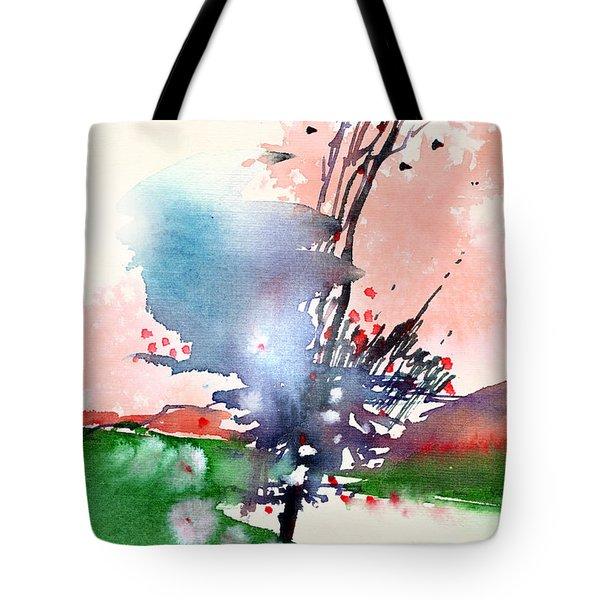 Light 2 Tote Bag by Anil Nene