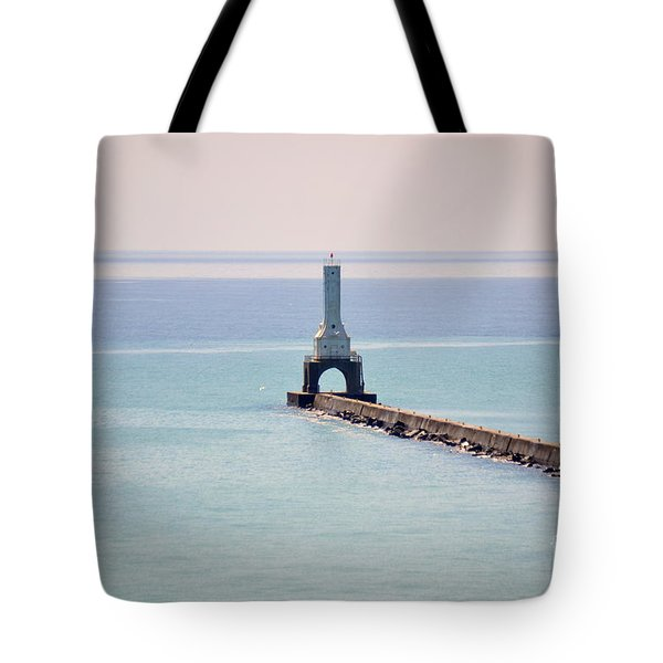 Light House Tote Bag by Dyana Rzentkowski