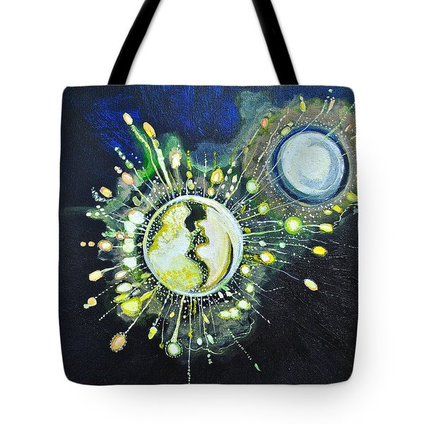 Light Music Tote Bag by Patricia Arroyo