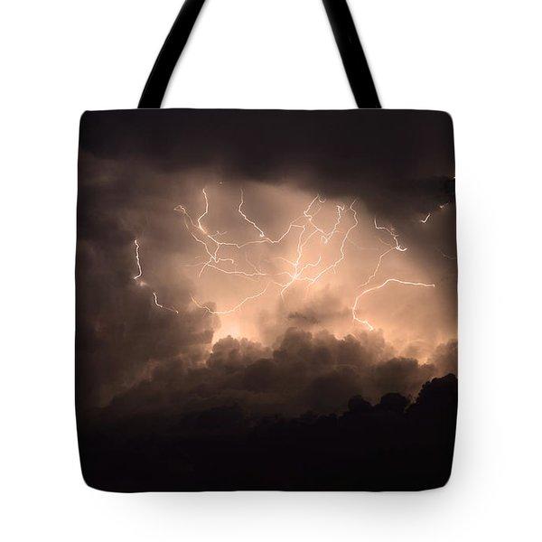 Lightning Tote Bag by Bob Christopher