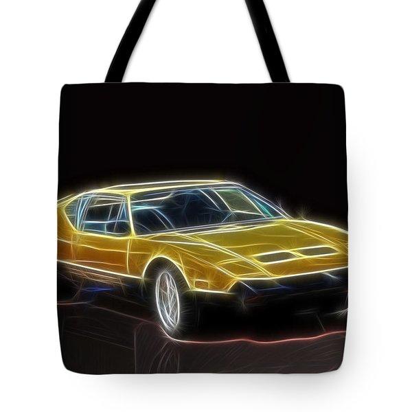 Lightning Fast Tote Bag by Barry Jones