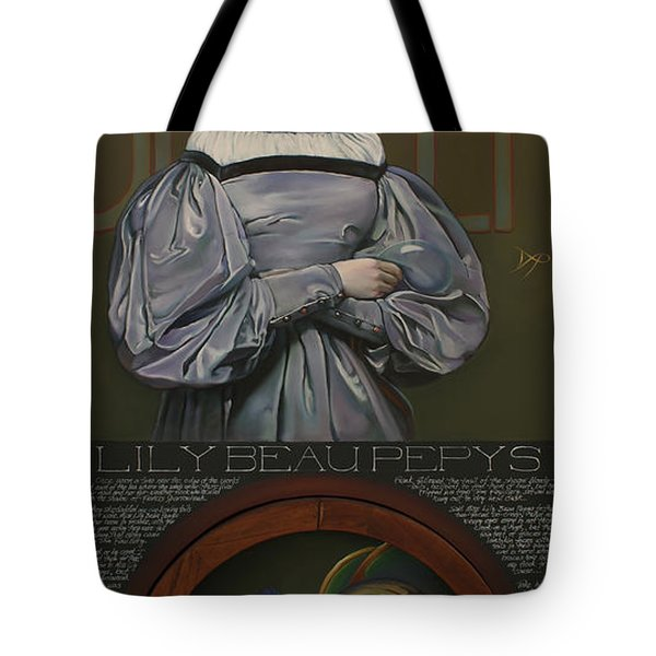 Lily Beau Pepys Tote Bag by Patrick Anthony Pierson