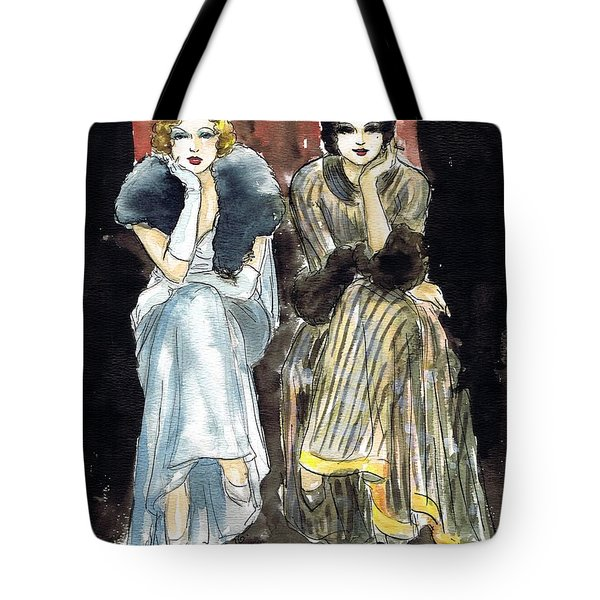 Lilyan And Kay 2 Tote Bag by Mel Thompson
