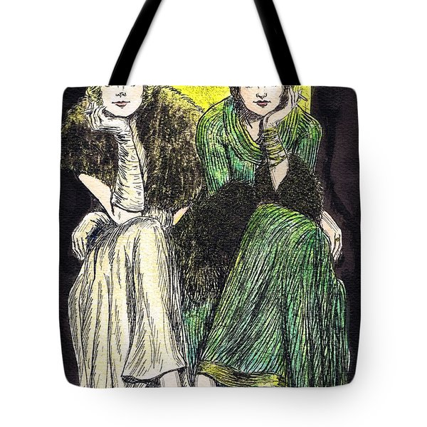 Lilyan And Kay Tote Bag by Mel Thompson