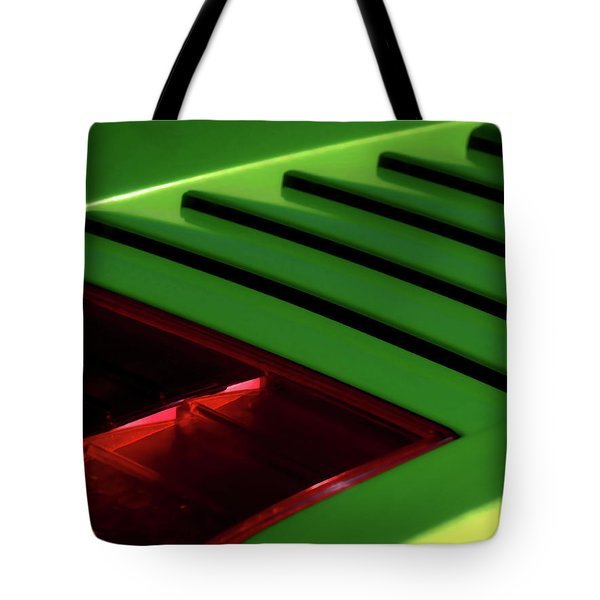 Lime Light Tote Bag by Douglas Pittman