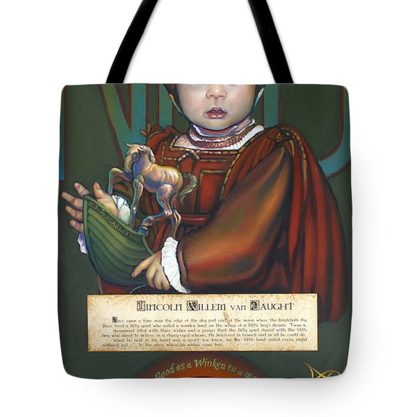 Lincolm Willem van Naught Tote Bag by Patrick Anthony Pierson