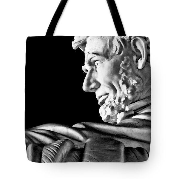 Lincoln Profile Tote Bag by Christopher Holmes