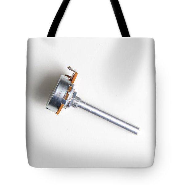 Linear-taper Potentiometer Tote Bag by Photo Researchers, Inc.