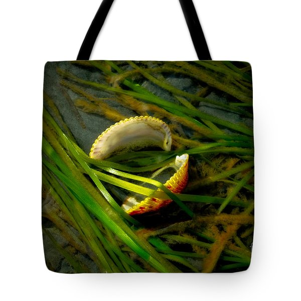 Linguini with Clams Tote Bag by Venetta Archer