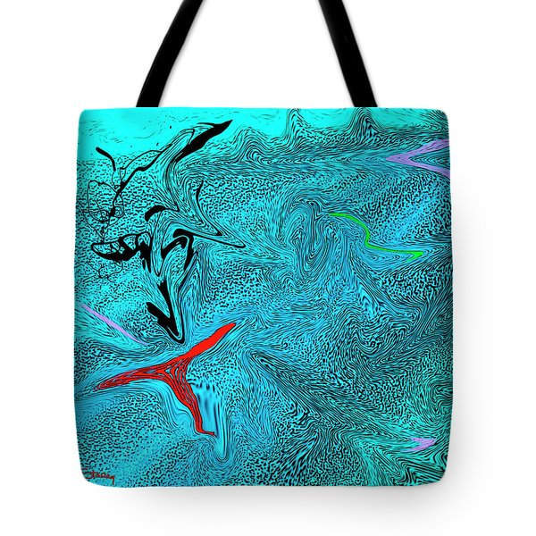 Liquid Glass Tote Bag by Chuck Staley