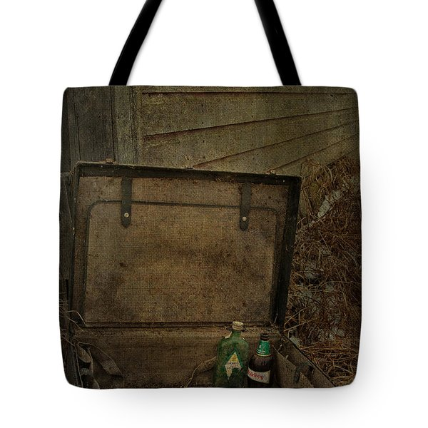 Liquid Letters Of Leaving  Tote Bag by Jerry Cordeiro