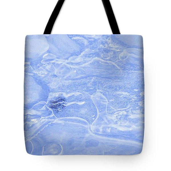 Liquid Texture Tote Bag by Carson Ganci
