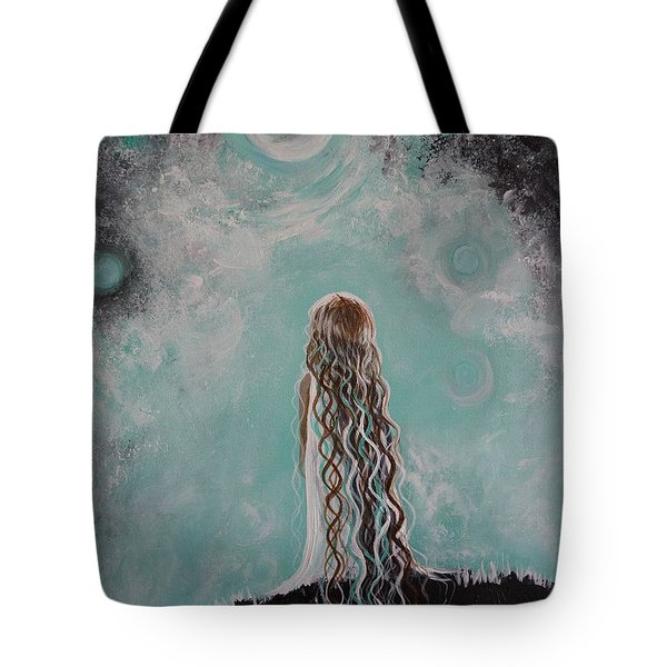 Little Galaxie Tote Bag by Leslie Allen