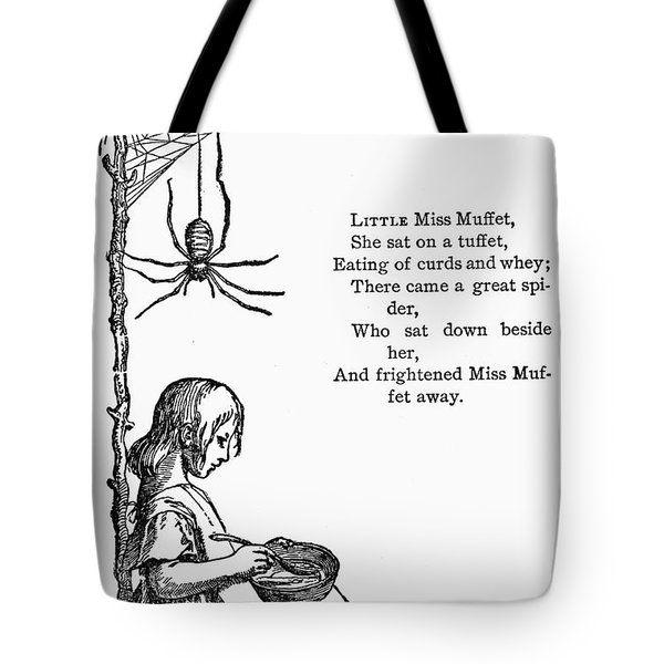 Little Miss Muffet Tote Bag by Granger