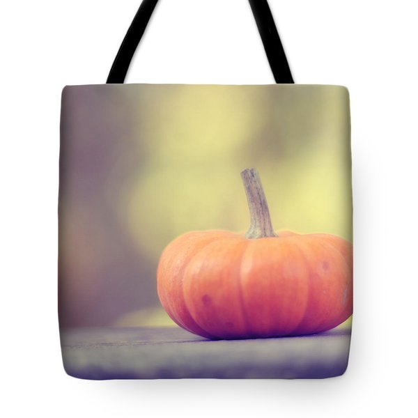 Little Pumpkin Tote Bag by Amy Tyler